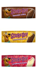 the new scooby doo icecreams