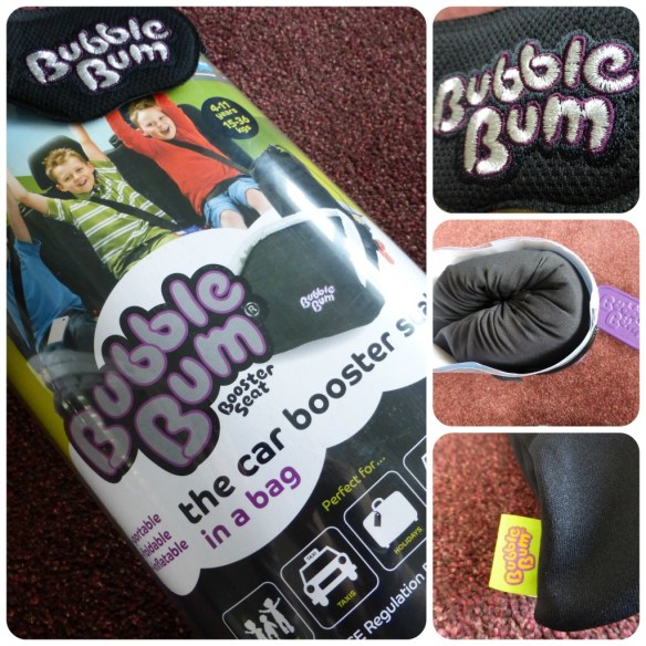 bubble bum booster seat