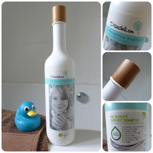 oright dandelion sensitive shampoo