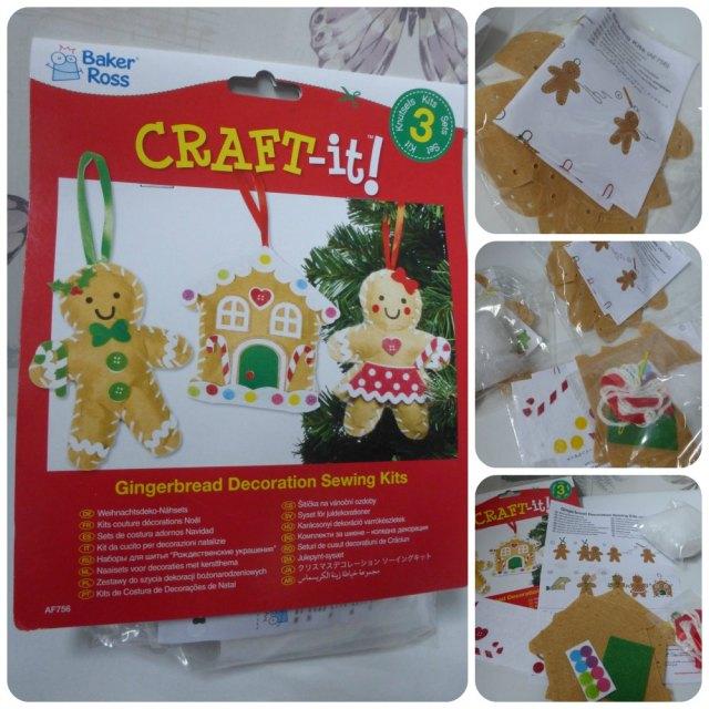christmas craft gingerbread