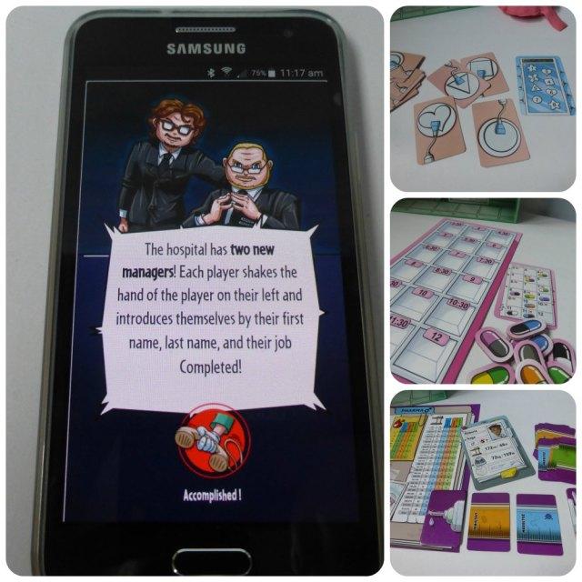 Doctor Panic board game