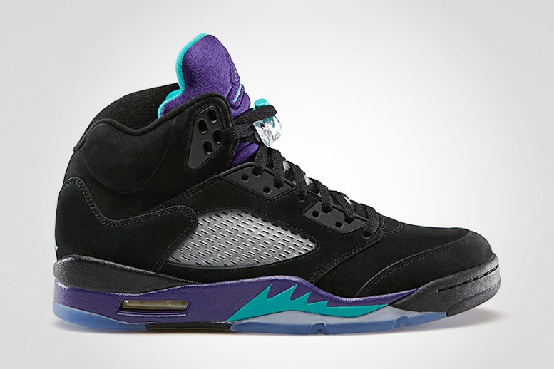 Air Jordan V Black Grape  The Source