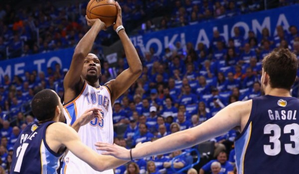 Kevin Durant, NBA, Thunder, Oklahoma City, Grizzlies