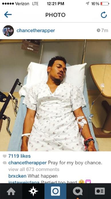 chance in hospital