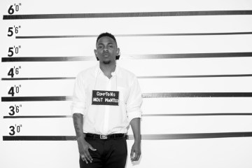 Kendrick Lamar The Source lineup police comptons most wanted black and white