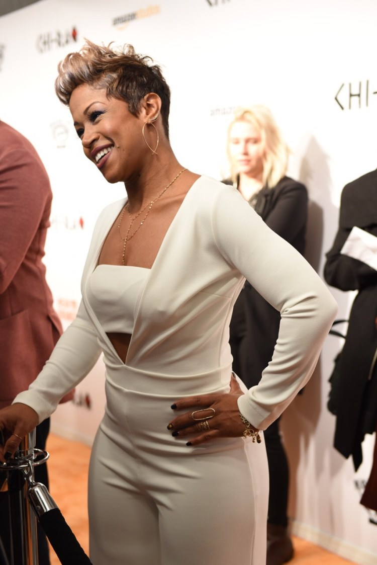'Windy City Live's' Val Warner - 'Chi-Raq' World Premiere, Chicago, November 22, 2015, The Chicago Theater Photo credit: Juan Anthony Images