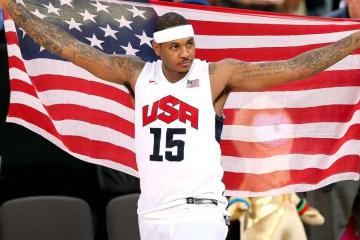 Carmelo Anthony is More Than Ready to Bring Home Gold For U.S. Olympics