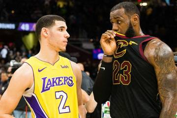 LeBron James and Lonzo Ball Share Post Game Moment, Twitter Reacts