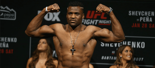 Francis Ngannou Demolishes Alistair Overeem at UFC 218