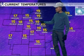 [WATCH] Chance The Rapper Transforms Into Chance The Weatherman