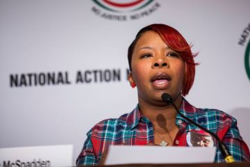 Michael Brown's Mother Reportedly Considering Running for Ferguson Council