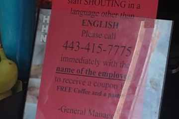Dunkin' Donuts Under Fire for Racist Instructions to Customers