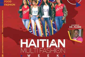 Haitian Multi-Fashion Week Flyer