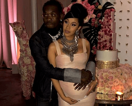 Cardi B and Offset Had Their Baby Shower Last Night in Atlanta