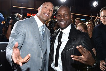 Dwayne Johnson on Beef With Tyrese Gibson: 'It Was Pretty Disappointing""