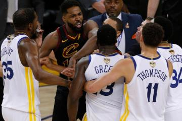 Tristian Thompson Reportedly Punched Draymond Green at ESPYs After Party