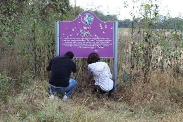 63 Years Later They Still Hate Us: Emmett Till Memorial Sprayed With Bullets Again