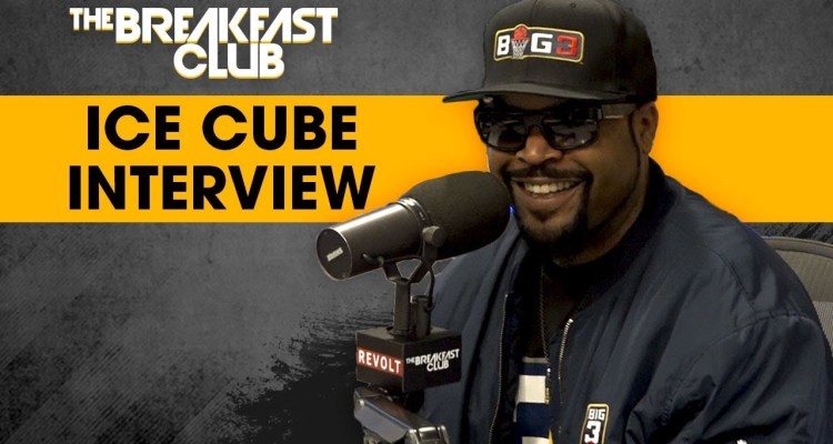Ice Cube Talks BIG3 Championship, Kobe Bryant, LeBron James On The Lakers & More