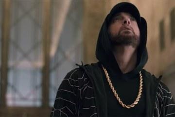 Eminem Performs 'Venom' From Empire State Building on 'Jimmy Kimmel Live!'