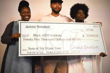 Jussie Smollett Donates $125K to Several Black Charities