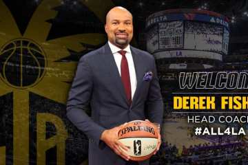 Derek Fisher Named New Coach of the WNBA's Los Angeles Sparks