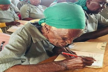 95-Year-Old Kenyan Woman Enrolls in School and Reminds Us You're Never Too Old to Learn