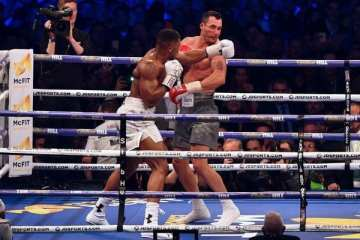Heavyweight Champion Anthony Joshua to Make His U.S. Debut on June 1st at Madison Square Garden