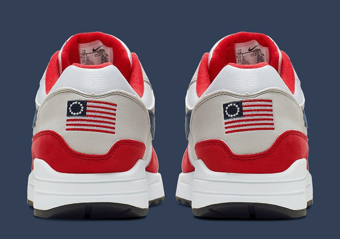 Image result for photo of Nike's 1776 flag shoe