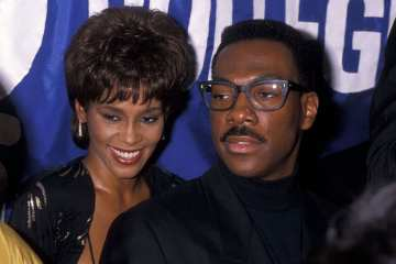 Eddie Murphy Reportedly Tried to Stop Whitney Houston's Marriage to Bobby Brown