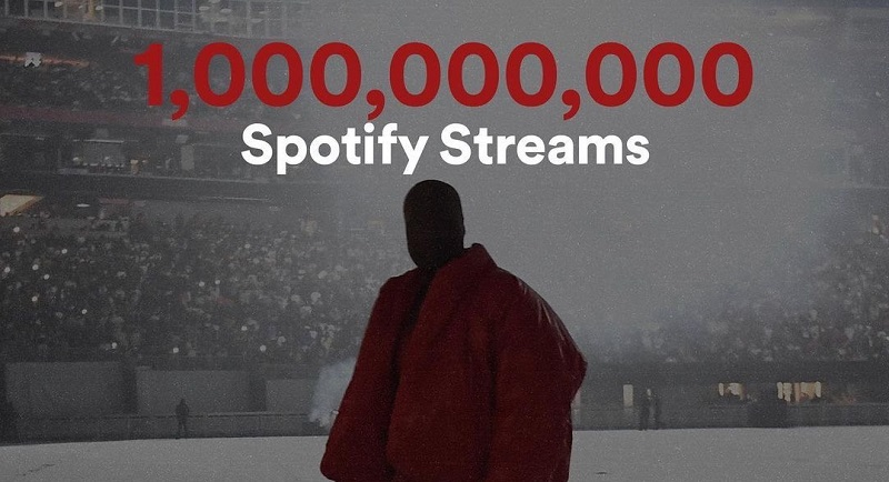 Kanye West's 'DONDA' Album Passes 1…