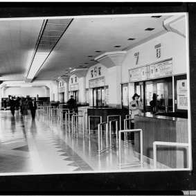 Here are some historical photos from the station over the years. Photo: Library of Congress.
