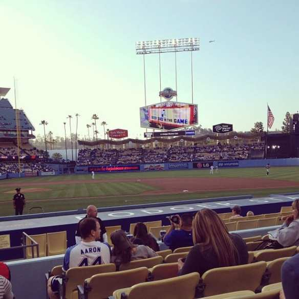Dodger games are a great way to spend a summer night. Photo by Chloe Rodriguez/Metro.