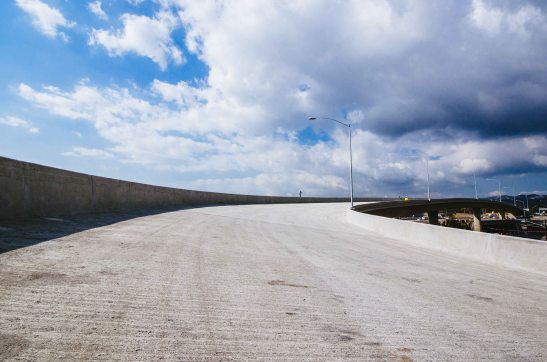 A view of the new onramp to the NB 405. Photo by Steve Hymon/Metro.