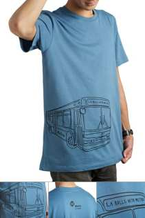 Roll With Metro Shirt Large