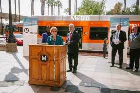 Metro Board Chair Diane DuBois.