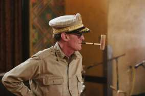 General Douglas MacArthur made an appearance, back from Korea and the dead. Photo by Steve Hymon/Metro.