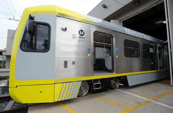 Another view of the new car. Photo: Juan Ocampo/Metro.