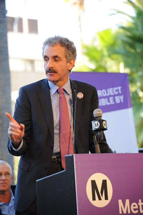 L.A. City Attorney Mike Feuer, whose bill put Measure R on the ballot in 2008. Photo by Juan Ocampo for Metro.