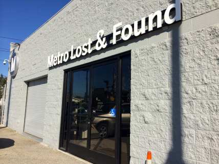 Metro Lost and Found. (Photos by Joseph Lemon/Metro)