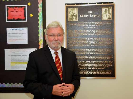 Former Metro CEO Art Leahy at Division 3. Photos: Luis Inzunza/Metro