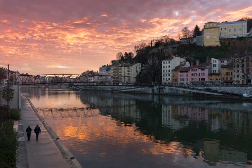 Lovely Lyon, France. Photo by Net Circlion, via Flickr creative commons.