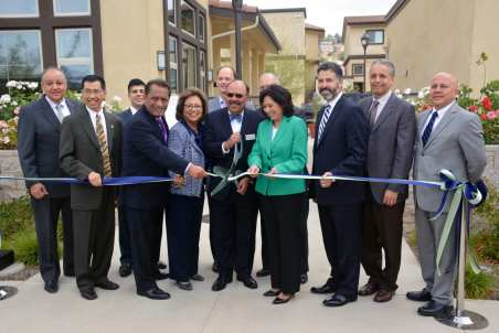 Ribbon cutting for the Taylor Yard Apartments and Rio Vista Apartments, the completed first two phases of the Taylor Yard Transit Village.