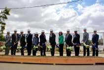 Groundbreaking for the Taylor Yard senior complex, the final phase of the project.