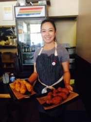Crispy chicken at Tokyo Fried Chicken