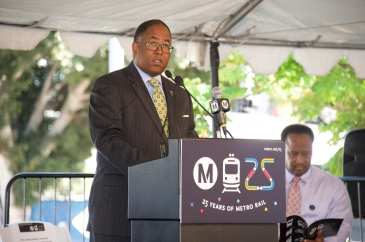 Supervisor Mark Ridley-Thomas. Photo: Gary Leonard/Metro
