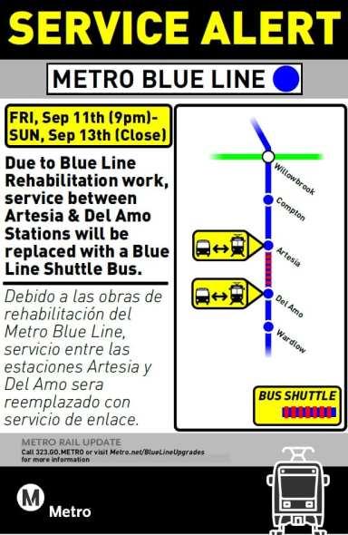Artesia-Del Amo Sep 11-13