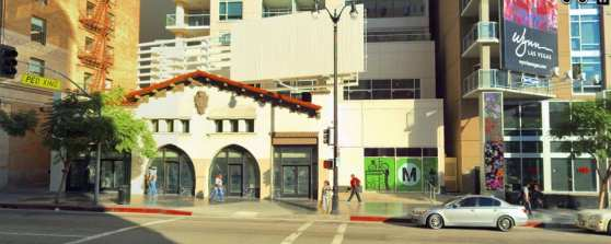 Planned Metro Bike Hub at Hollywood/Vine which is scheduled to open in mid-2016.