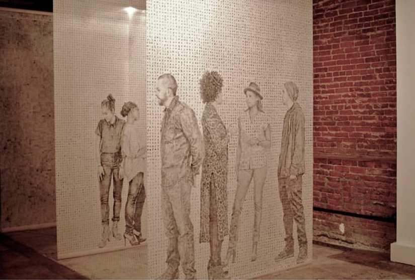 Past artwork by Kenturah Davis