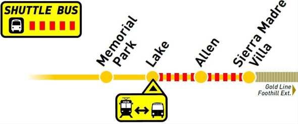 Lake-SMV Bus Bridge