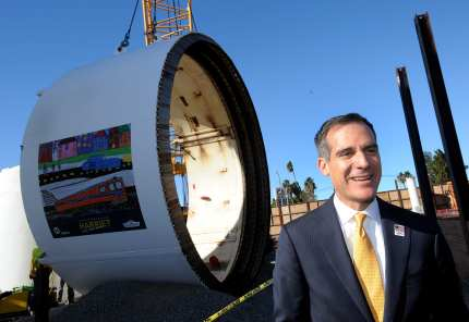 Metro Board Member and L.A. Mayor Eric Garcetti.